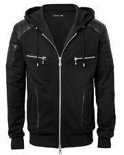 Balmain X H&M Hooded Jacket Hoodie Black Size Large L Brand New With Tags