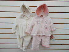 Infant Girls Vitamins Baby $30-$32 2pc Bunny or Squirrel Outfits Size 3mo - 6mo