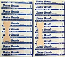 100pc Breath Right Advanced Nasal Strips Clear Reduce Snoring Better S/M/L
