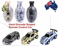 Super Mini Remote Control Car High Speed Hand Grenade Shaped Shell Toy Gift Nice