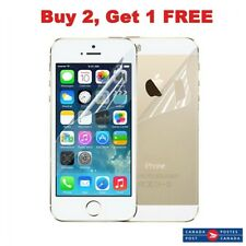 HD Clear Matte Anti-Glare Screen Protectors For Apple iPhone 5 5S 5C Front Back