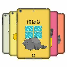 HEAD CASE DESIGNS WILBUR THE CAT HARD BACK CASE FOR APPLE iPAD MINI 1 2 3