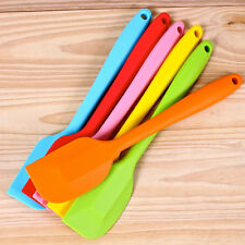 Cake Cream Butter Spatula Mixing Batter Scraper Brush Silicone Baking Cook Tool