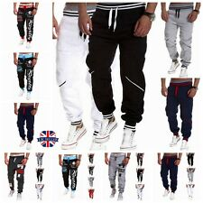 Men Jogging Sports Training Sweat Pants Tracksuit Bottoms Casual Harem Trousers