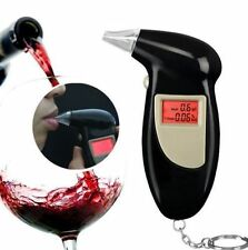 @Digital LCD Breath Alcohol Breathalyzer Analyser Tester Test Detector Keychain~