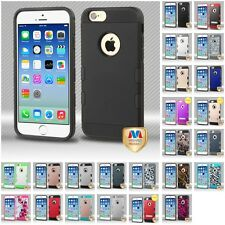 For Apple iPhone 6/6S [4.7] TUFF Trooper Slim Hard Shockproof Case IMPACT Cover