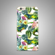 Tropical Floral Flower Soft TPU Rubber Silicone Clear Cover Back Case For iPhone