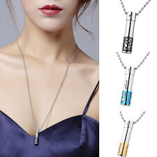 316L Stainless Steel Cremation Jewelry Urns Pendant Necklace For Ashes Gift
