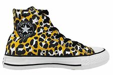 Converse All Star Chuck Taylor Animal Print Yellow Lace Up Unisex Shoes 540284