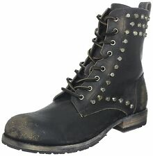 FRYE Rogan Biker Lace Mens BootBlack- Choose SZ/Color.