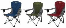 NEW OZtrail Deluxe Arm Chair