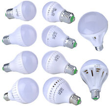 9/12/12/15/20/25W Energy Saving LED E27 Warm White Light Bulb Lamp  110V-240V