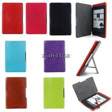 Premium Slim PU Leather Smart Ebook Case Cover Kit for Amazon Kindle Paperwhite