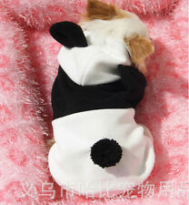Black and white panda become qiu dong outfit dog panda legs dog clothes 2019