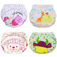 Cute Baby Training Pants Reusable Cloth Washable Infant Nappies Diaper Braw