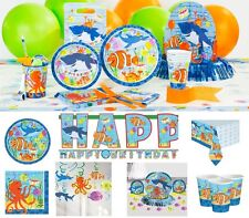 Ocean Buddies Birthday Party Supplies Tableware Plates Cups Napkins Invitations