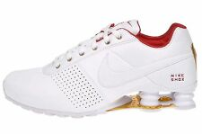 Nike Shox Deliver Women's Running Shoes 317549 118 White Red Metallic Gold New