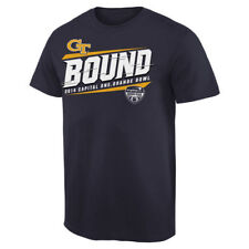 Georgia Tech Yellow Jackets Navy Blue 2014 Orange Bowl Bound Skyward T-Shirt