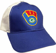 Wisconsin Sports Baseball Cap 3-In-1 Brewers Packers Badgers Logo Embroidered