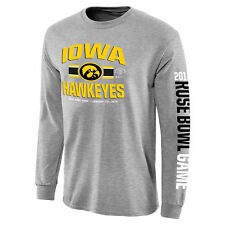 Iowa Hawkeyes Gray 2016 Rose Bowl Bound 3rd Down Long Sleeve T-Shirt - College