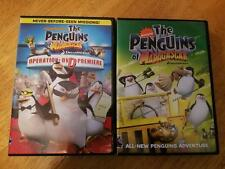 Nickelodeon The Penguins of Madagascar Lot of 2 DVD FREE SHIPPING