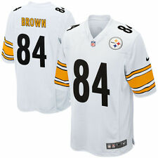 Antonio Brown Pittsburgh Steelers  Youth Game Jersey White By Nike