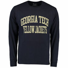 Champion Georgia Tech Yellow Jackets Navy University Long Sleeve T-Shirt