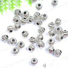 5*4MM Tibetan Charms Spacer Beads Jewelry Findings Making DIY Crafts Natural