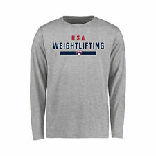 USA Weightlifting Youth Ash NGB Team Strong Long Sleeve T-Shirt
