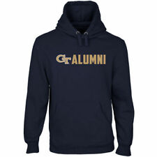 Georgia Tech Yellow Jackets Wordmark Alumni Pullover Hoodie - Navy Blue