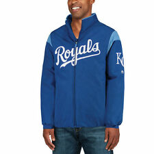 Majestic Kansas City Royals Royal On-Field Therma Base Thermal Full-Zip Jacket