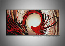 + framed Handmade Oil Painting Modern Canvas Picture Abstract Wall Art for Decor
