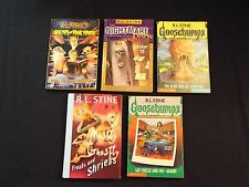 5-lot-R.L.Stine-Goosebumps-Mostly Ghostly-Blob-Vampire,Nightmare,Say Cheese*READ