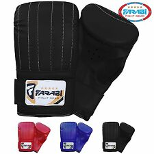 Farabi Boxing Bag Mitt MMA Muay thai kickboxing fitness training gym punching