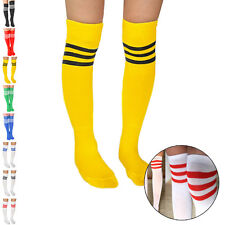 Mens Womens New Soccer Baseball Football Sport Over Knee Ankle Soft Socks