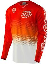 Troy Lee Designs White-Red 2017 SE Air Starburst MX Jersey