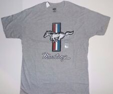 Official Ford Mustang Horse American Flag Muscle Car Vintage Logo T-Shirt