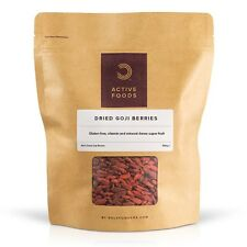 BULK POWDERS™ GOJI BERRIES | GOJI BERRY WOLFBERRY DRIED FRUIT SUPERFOOD 500G 1KG