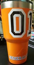 GENERAL LEE 30oz Tumbler Decal Kit **3 DECALS INCLUDED**