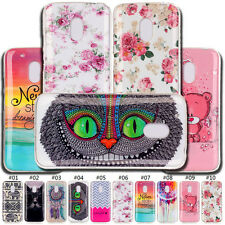 Protective IMD+TPU Soft Shell Skin Case Cute Cover Back Shell For Motorola Phone