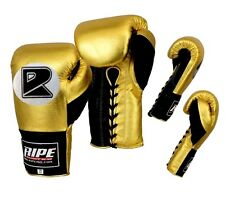 Ripe New Custom Mexican Printed Professional Fight BOXING Gloves  8-20oz MMA,UFC