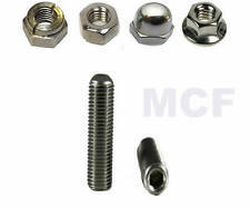 YAMAHA TDM 900 EXHAUST STUDS, NUTS, WASHERS A2 STAINLESS STEEL