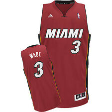 Adidas Dwayne Wade Miami Heat Alternate Swingman Jersey