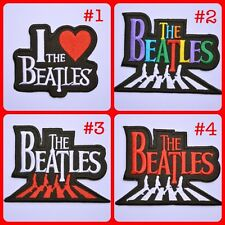 The Beatles Music Band Abbey Road Pop Rock Applique Embroidered Iron On Patch