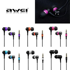 Awei Q3 Earphone Super Bass Noise Isolation Headphone For Cell Phone MP3 Utility