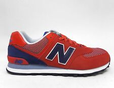 New Balance Men's 574 DAY HIKER Shoes Red/Navy ML574UTB a