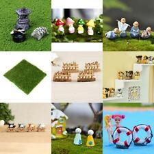 Various Miniature Fairy Micro Landscape Flower Pot Bonsai Statue Dollhouse Decor