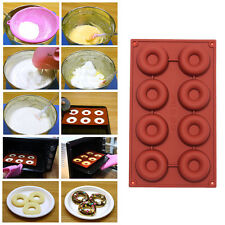 818-Cavity Donut Doughnut Baking Mold Cake Chocolate Candy Soap Silicone Mould