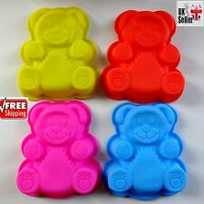 Panda Silicone Chocolate Moulds Cake Cookie Baking Molds Jelly Ice Cube Tray UK