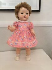Vintage Style Doll Dress For Pedigree , Rosebud,Palitoy , Hard Plastic 50's Doll